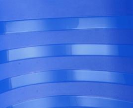 Plástico Touring Azul