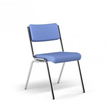 Cadeira Spazio Fixa sem braços