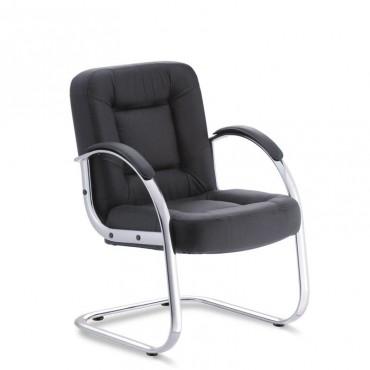 Cadeira Business Interlocutor Couro Natural
