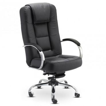 Cadeira Business Presidente Couro Natural