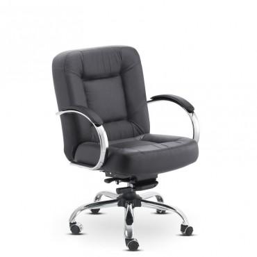 Cadeira Business Diretor Couro Natural