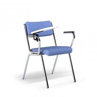 Cadeira Spazio Fixa com Prancheta